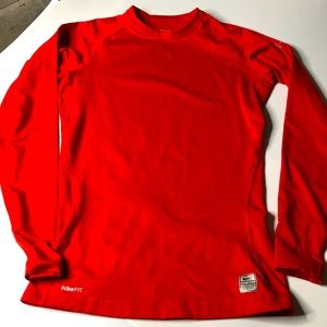 Nike Pro Mens Sz Small Long Sleeve compression top
